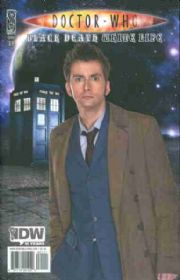 Doctor Who Black Death White Life Photo Cover B (2009) IDW Publishing comic book
